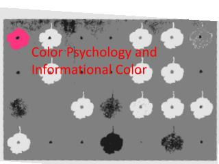 Color Psychology and Informational Color