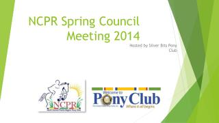 NCPR Spring Council Meeting 2014