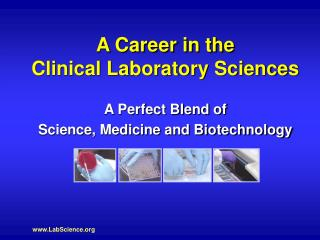 A Career in the Clinical Laboratory Sciences