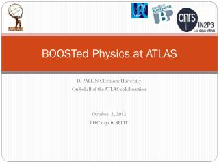 BOOSTed  Physics at ATLAS
