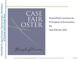 PowerPoint Lectures for  Principles of Economics,  By  Hari  Effendi,  SPd