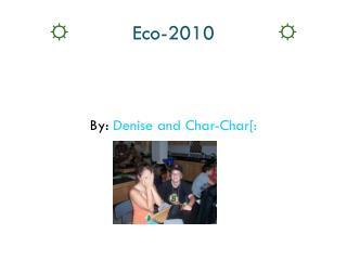 ☼ Eco-2010 ☼