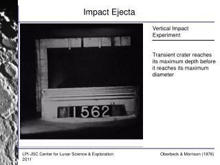 Impact Ejecta