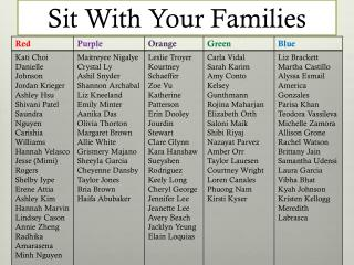 Sit With Your Families