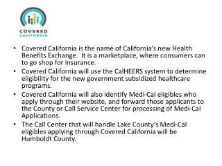 Statewide Call Centers: