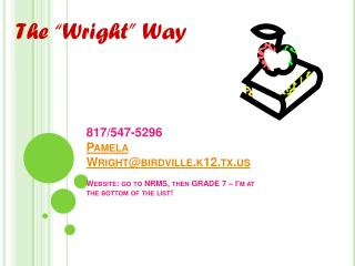 "The ""Wright"" Way"