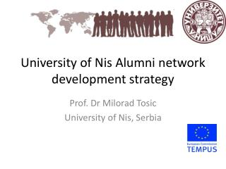 University of Nis  Alumni network  development strategy