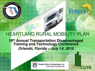 HEARTLAND RURAL MOBILITY PLAN