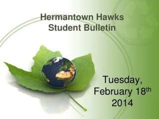 Hermantown Hawks Student Bulletin