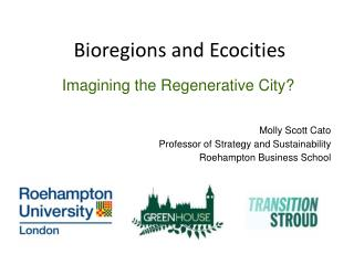 Bioregions and Ecocities