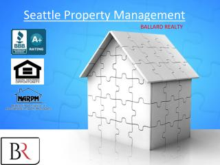 Property Management Companies in Seattle