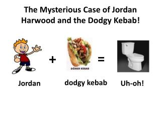 The Mysterious Case of Jordan Harwood and the Dodgy Kebab !