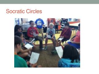 socratic circle Socratic circle this process is based on socrates' method of teaching that is, we learn best by continuing to ask questions, rather than arrive at answers this will not be a.