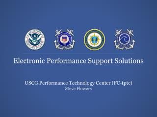 Electronic Performance Support Solutions