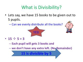 What is Divisibility ?