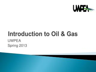 Introduction to Oil & Gas