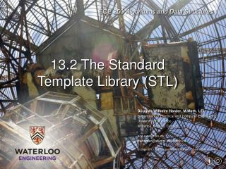 13.2 The Standard Template Library (STL)