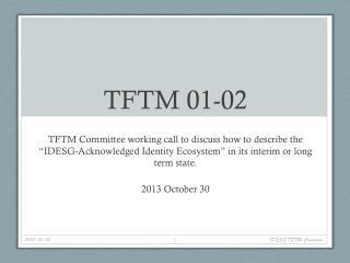 TFTM 01-02