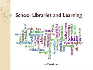 School Libraries and Learning