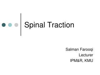 Spinal Traction