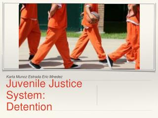 Juvenile Justice System: Detention
