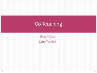 Co-Teaching