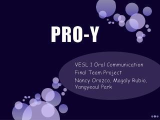 PRO-Y