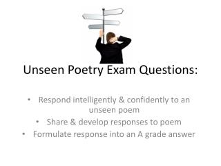 Unseen Poetry Exam Questions: