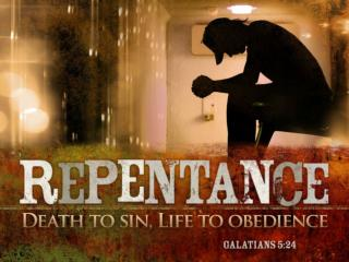 How many times have you repented in your life?