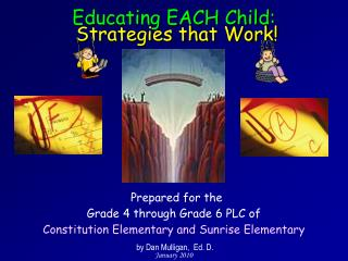 Educating EACH Child:  Strategies that Work!