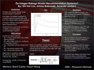 Do Integer Ratings Hinder Recommendation Systems?