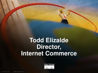 Todd Elizalde Director,  Internet Commerce