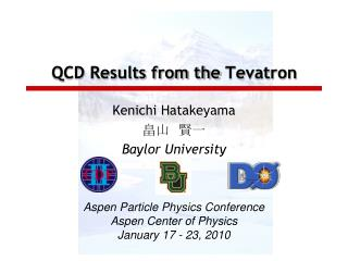 QCD Results from the  Tevatron