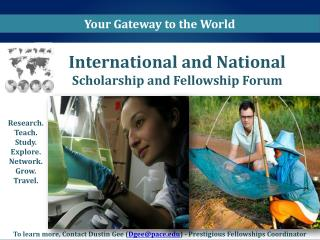 International and National  Scholarship and Fellowship Forum