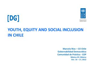 YOUTH, EQUITY AND SOCIAL INCLUSION IN CHILE
