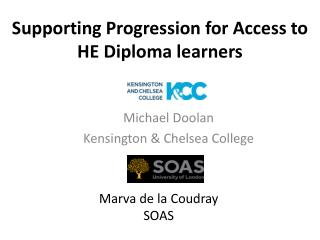 Supporting Progression for  Access to HE Diploma learners