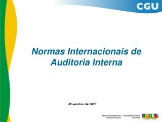 Normas Internacionais de Auditoria Interna