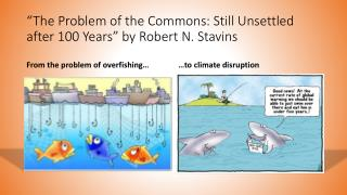 """The Problem of the Commons: Still Unsettled after 100 Years"" by Robert N.  Stavins"