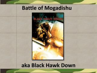Battle of Mogadishu
