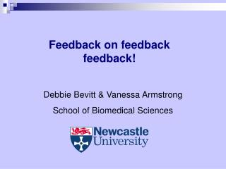 Feedback on feedback feedback !