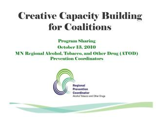 Creative Capacity Building             for Coalitions