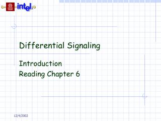 Differential Signaling