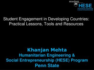 Student Engagement in Developing Countries: Practical Lessons, Tools and  Resources