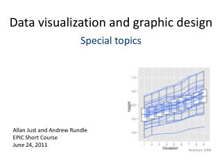 Data visualization and graphic design Special topics