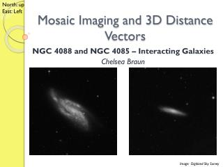 Mosaic Imaging and 3D Distance Vectors