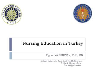 Nursing Education  in  Turkey