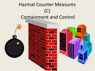 Hazmat Counter Measures (C)  Containment and Control