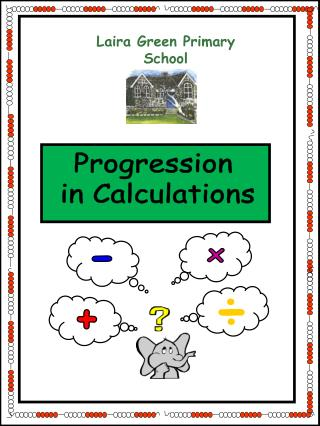 Progression  in Calculations