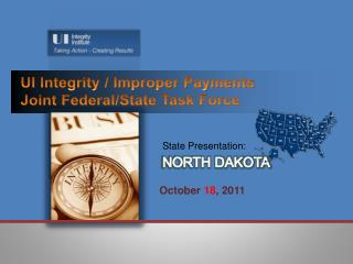 UI Integrity / Improper Payments Joint Federal/State Task Force