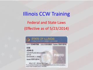 Illinois CCW Training
